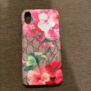 iPhone X Max Gucci phone case